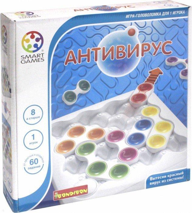 Иллюстрация 1 из 16 для Игра  Логическая АнтиВирус (SG 520 RU) (0847ВВ) | Лабиринт - игрушки. Источник: Лабиринт