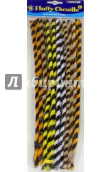 Купить Набор Пушистый шениль. Полоска животных (25 штук) (2470063), Playbox, Скрапбук