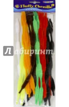 Купить Набор Пушистый шенилл Волна (15 мм, 25 штук) (2470280), Playbox, Сопутствующие товары для детского творчества