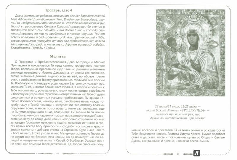 Иллюстрация 1 из 8 для Молитвы к 45 чудотворным иконам Божией Матери | Лабиринт - книги. Источник: Лабиринт