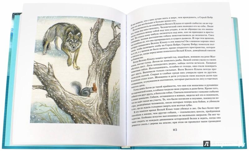 Иллюстрация 1 из 44 для Белый Клык - Джек Лондон | Лабиринт - книги. Источник: Лабиринт