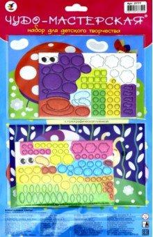 Купить Набор для детского творчества. Чудо-мастерская: сверкающая мозаика Божья коровка. Улитка (2777), Дрофа Медиа, Аппликации