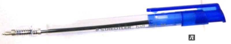 Иллюстрация 1 из 5 для Ручка шариковая автоматическая Ball М 0,5 мм. Синий | Лабиринт - канцтовы. Источник: Лабиринт