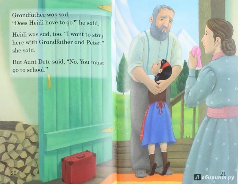 Иллюстрация 1 из 12 для Heidi | Лабиринт - книги. Источник: Лабиринт