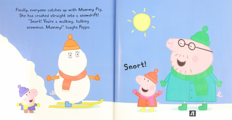 Иллюстрация 1 из 19 для Peppa Goes Skiing - Sue Nicholson | Лабиринт - книги. Источник: Лабиринт