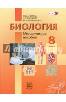 Биология. 8 класс. Человек и его здоровье. Методическое пособие. ФГОС