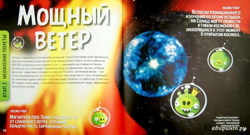 Иллюстрация 1 из 12 для Angry Birds. Космос. Захватывающий полет к последнему рубежу - Эми Бриггс   Лабиринт - книги. Источник: Лабиринт