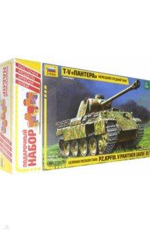 Купить Немецкий средний танк Пантера (3678П), Звезда, Бронетехника и военные автомобили (1:35)