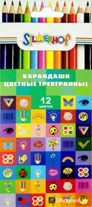 Иллюстрация 1 из 10 для Карандаши трехгранные EMOTIONS (12 цветов) (134190-12) | Лабиринт - канцтовы. Источник: Лабиринт