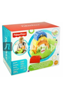 Пирамидка. Крокодильчик. Fisher-Price (CDC48)