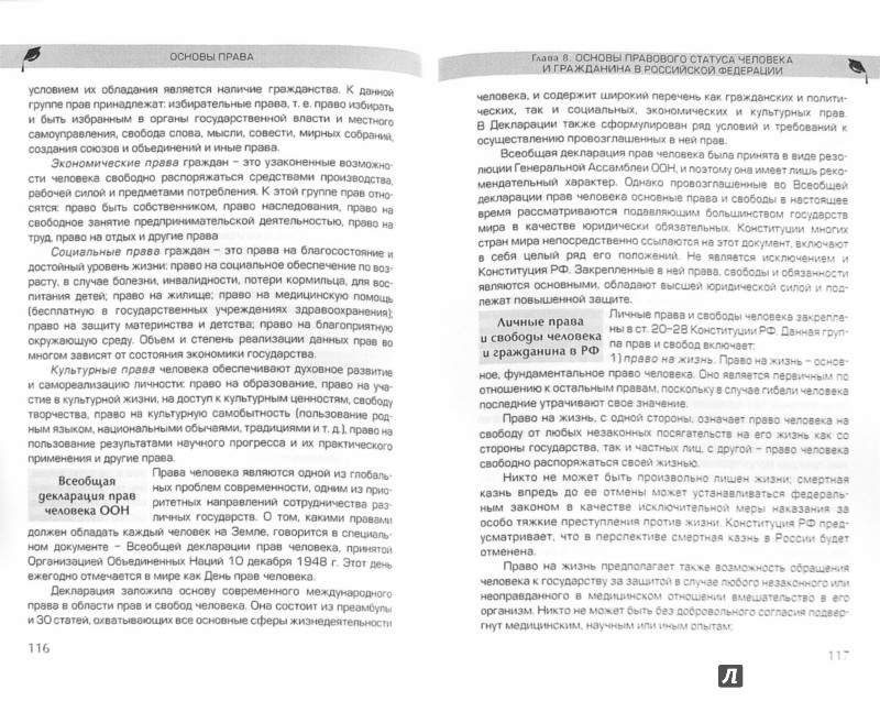 Иллюстрация 1 из 7 для Основы права - Вероника Румынина | Лабиринт - книги. Источник: Лабиринт