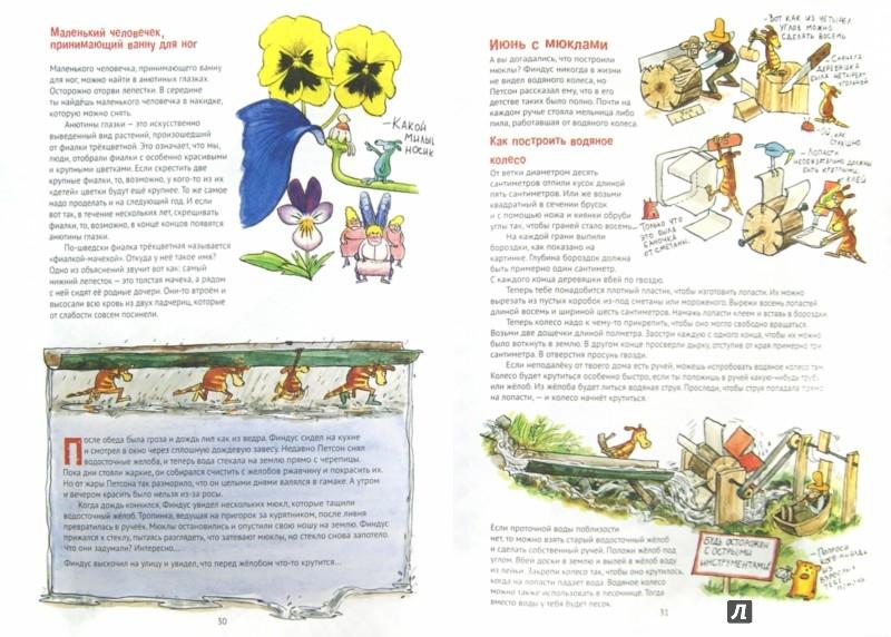 Иллюстрация 1 из 28 для Поделки Финдуса - Ларсон, Даниельсон | Лабиринт - книги. Источник: Лабиринт