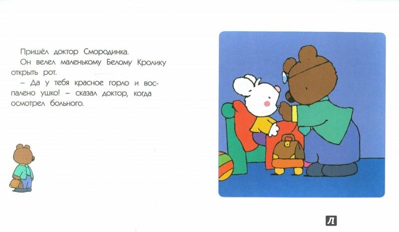 Иллюстрация 1 из 17 для Маленький Белый Кролик идет к врачу - Флури, Буанар | Лабиринт - книги. Источник: Лабиринт