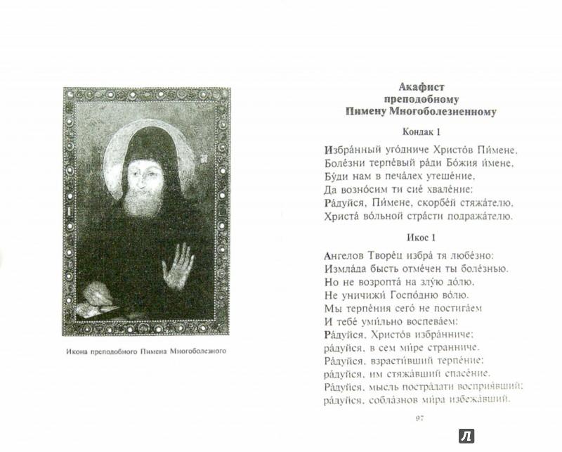 Иллюстрация 1 из 11 для Акафистник. От недуг и горьких болезней | Лабиринт - книги. Источник: Лабиринт