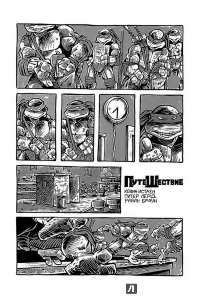 Иллюстрация 1 из 19 для Черепаховый суп. Книга первая - Истмен, Лерд, Фарли | Лабиринт - книги. Источник: Лабиринт