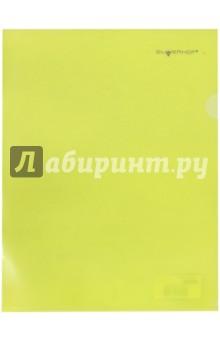 """Папка-уголок """"Classic"""" (р=0,15 мм, желтый) (255118-05)"""