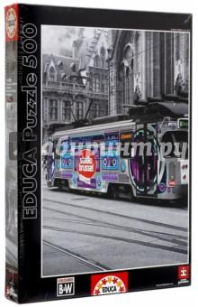 Пазл-500 Трамвай в Генте, Бельгия (16358) educa пазл пекарня