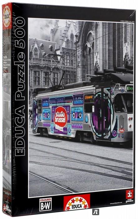 Иллюстрация 1 из 2 для Пазл-500 Трамвай в Генте, Бельгия (16358) | Лабиринт - игрушки. Источник: Лабиринт