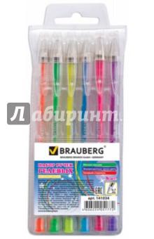 Набор гелевых ручек Zero Kids (6 штук) (141034)(6 штук) (141034) росмэн набор гелевых ручек 4 цвета флуоресцентные