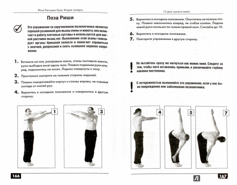 Иллюстрация 1 из 11 для Йога. Лучшие упражнения для каждого лунного дня - Андрей Левшинов | Лабиринт - книги. Источник: Лабиринт