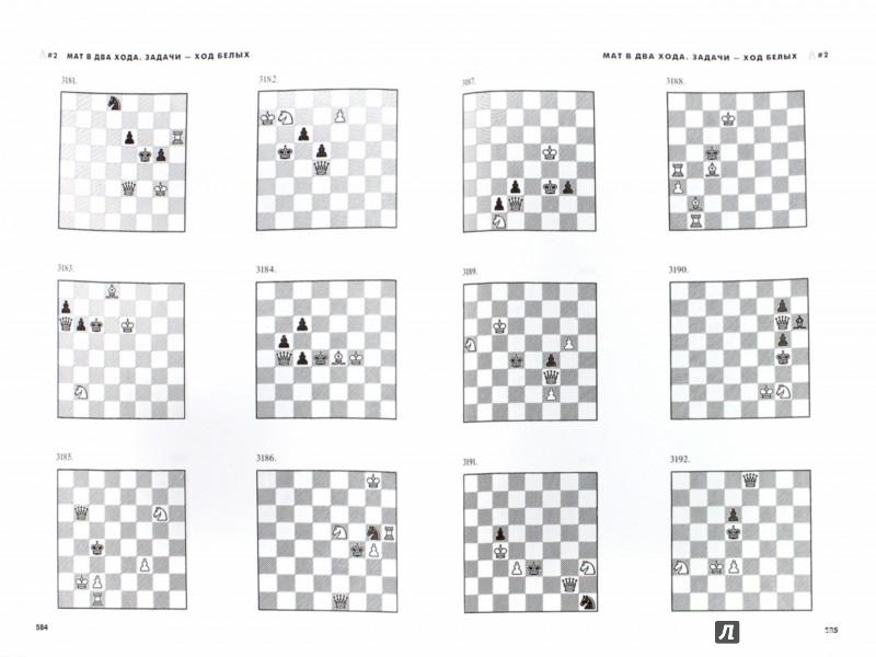 Иллюстрация 1 из 10 для Шахматы. 5334 задачи, комбинации и партии - Ласло Полгар | Лабиринт - книги. Источник: Лабиринт