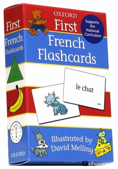 Иллюстрация 1 из 5 для First French 50 double-sided F/cards | Лабиринт - книги. Источник: Лабиринт