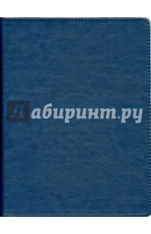 """Тетрадь на кольцах """"Копибук"""" со сменным блоком (80 листов, цвет синий с белым) (36084-10)"""