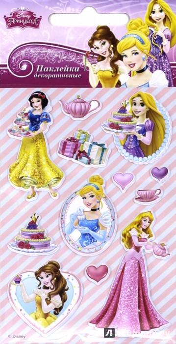 Иллюстрация 1 из 5 для Disney яркие наклейки Принцессы 5 (DsS04) | Лабиринт - игрушки. Источник: Лабиринт