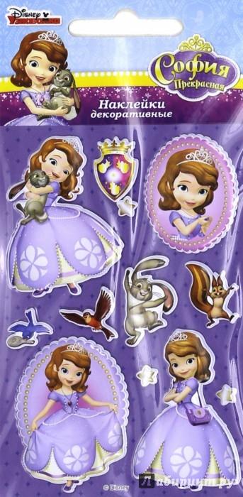 Иллюстрация 1 из 5 для Disney яркие наклейки София (DsS06) | Лабиринт - игрушки. Источник: Лабиринт