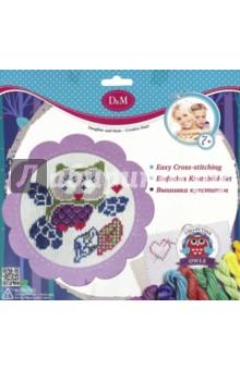 Набор для вышивания крестиком Совенок (57896) набор для детского творчества набор веселая кондитерская 1 кг