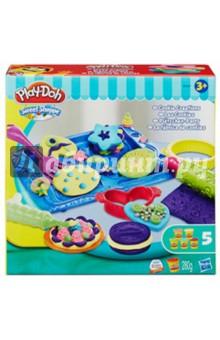 Купить Игровой набор Магазинчик печенья (B0307), Hasbro, Наборы для лепки с игровыми элементами