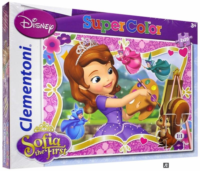 Иллюстрация 1 из 5 для Пазл. Набор 2х20 элементов. Как стать принцессой (24730) | Лабиринт - игрушки. Источник: Лабиринт