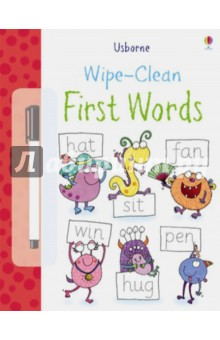 Wipe-Clean First Words transformers robots in disguise wipe clean first spellings