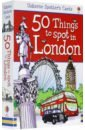 Jones Rob Lloyd 50 Things to Spot in London. Flashcards 1000 things to do in london