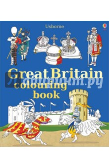 Great Britain Colouring Book the usborne fantastic colouring and sticker book