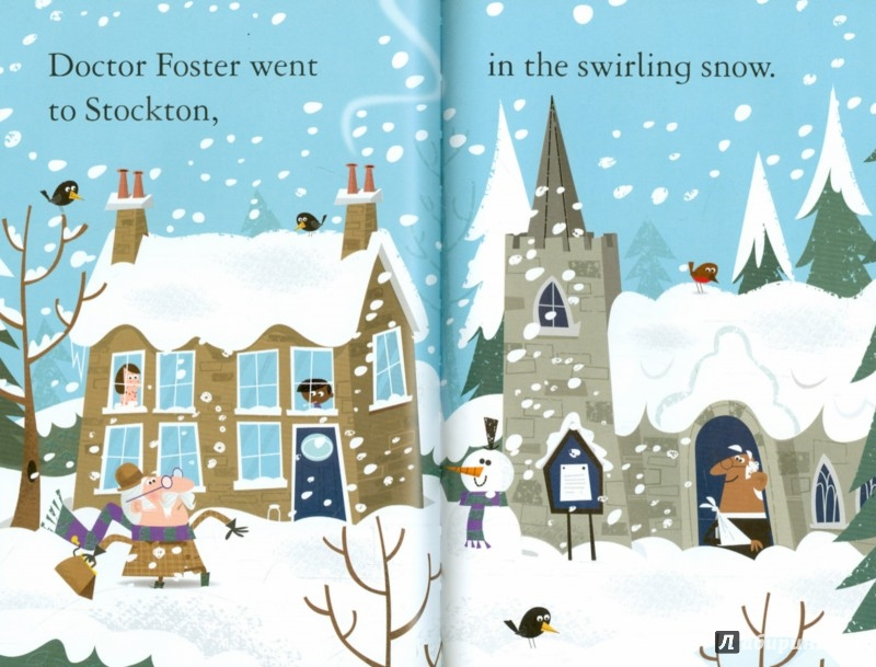 Иллюстрация 1 из 20 для Doctor Foster Went to Gloucester | Лабиринт - книги. Источник: Лабиринт