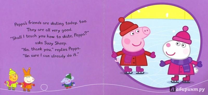 Иллюстрация 1 из 9 для Peppa Pig: Peppa Goes Ice Skating (board bk) - Sue Nicholson | Лабиринт - книги. Источник: Лабиринт
