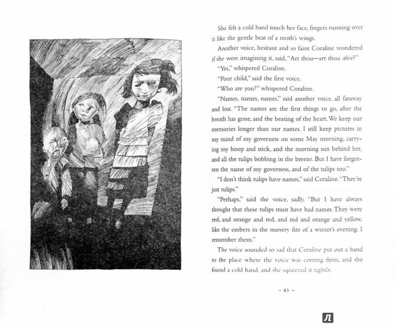 Иллюстрация 1 из 30 для Coraline - Neil Gaiman | Лабиринт - книги. Источник: Лабиринт