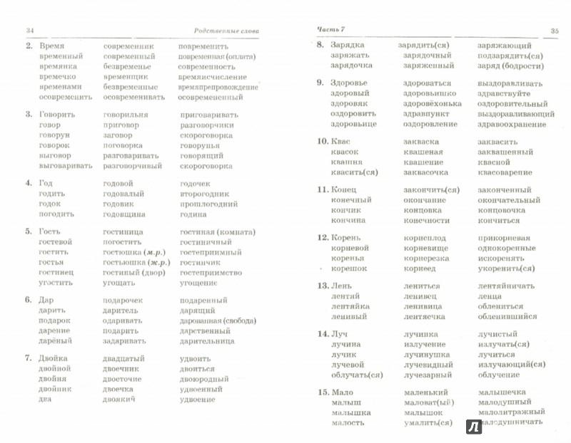 Иллюстрация 1 из 27 для Родственные слова. Лексико-грамматические упражнения и словарь для детей 6-8 лет - Вилена Коноваленко | Лабиринт - книги. Источник: Лабиринт