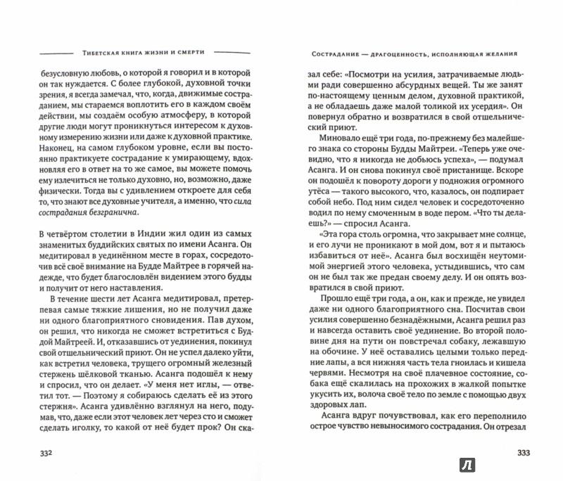 Иллюстрация 1 из 18 для Тибетская книга жизни и смерти. 20-летнее юбилейное издание - Ринпоче Согьял | Лабиринт - книги. Источник: Лабиринт