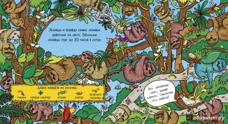 Иллюстрация 1 из 25 для Найди обезьянку в джунглях - Стелла Мейдмент | Лабиринт - книги. Источник: Лабиринт