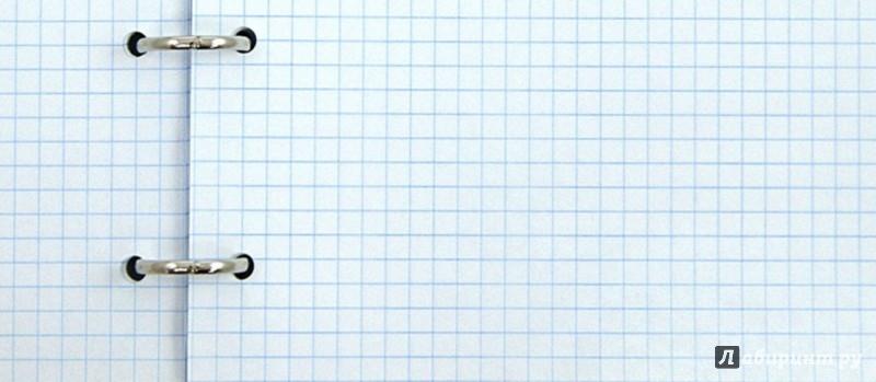 Иллюстрация 1 из 3 для Тетрадь Классика на кольцах (со сменным блоком, 2 вида) (7-29) | Лабиринт - канцтовы. Источник: Лабиринт