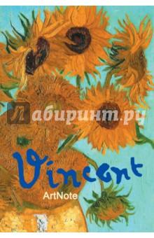 """Блокнот """"Ван Гог. Подсолнухи"""", А6+"""