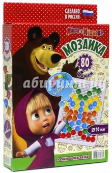 """Мозаика """"Маша и Медведь"""" (80 элементов, D 20 мм) (GT8671)"""