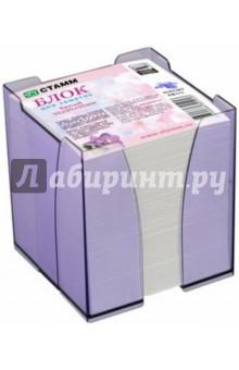 Бумажный блок для записей (9х9х9 см, белый) (ПВ111) СТАММ