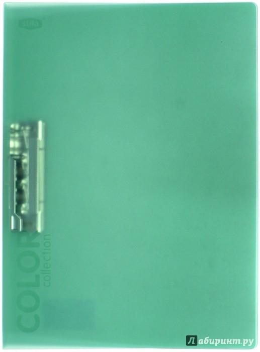 Иллюстрация 1 из 4 для Папка с зажимом, зелёный полупрозрачный (85556) | Лабиринт - канцтовы. Источник: Лабиринт
