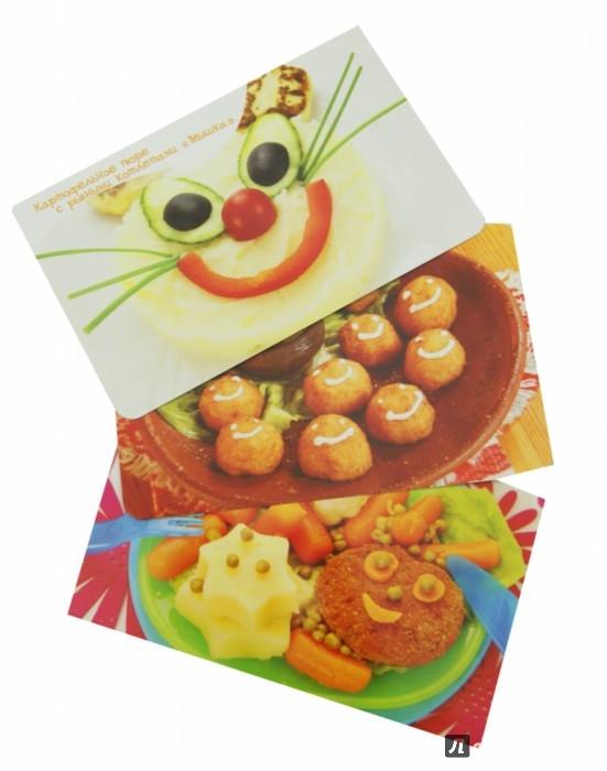 Иллюстрация 1 из 5 для Блюда для детей. Набор карточек   Лабиринт - книги. Источник: Лабиринт