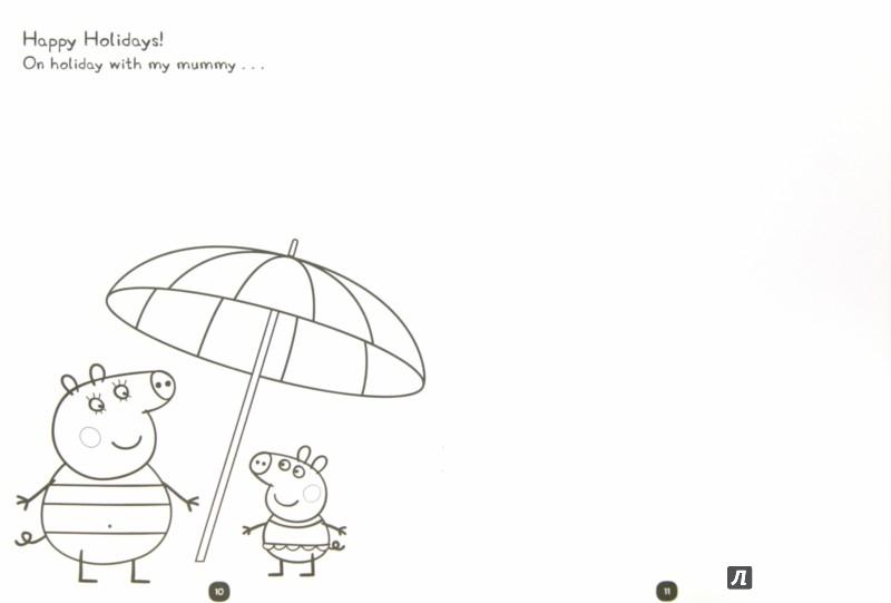 Иллюстрация 1 из 5 для Peppa Pig: Mummy and Me Sticker Colouring Book   Лабиринт - книги. Источник: Лабиринт