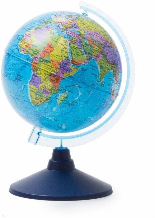 Иллюстрация 1 из 7 для Глобус Земли политический (d=150 мм) (Ке011500197) | Лабиринт - канцтовы. Источник: Лабиринт