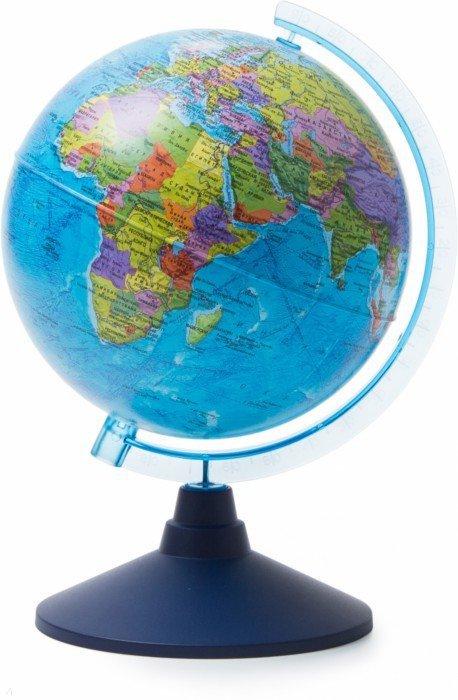 Иллюстрация 1 из 4 для Глобус Земли политический (d=210 мм) (Ке012100177)   Лабиринт - канцтовы. Источник: Лабиринт